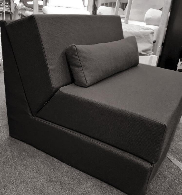 Admirable Unifoam Flip Chair Bed By Comfort Pure Alphanode Cool Chair Designs And Ideas Alphanodeonline