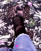PNK Elephant ICCONIC BOOT BLACK STUDDED SATIN Review