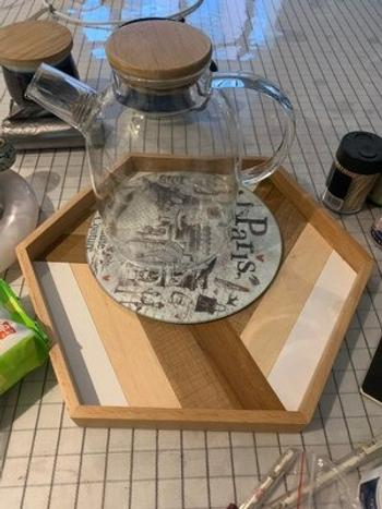 Vertoku Geo Wooden Tray Review