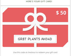 Pinetree Garden Seeds Pinetree Gift Card ( Email ) Review