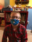 SchoolMaskPack™ Crayola™ Kids Reusable Cloth Face Mask Set, Blues and Greens Tip™ Faces Review