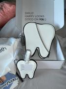 Happy Teeth Tooth Luggage Tag Review