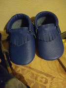 BirdRock Baby Royal Blue Baby Moccasins Review