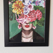 Print and Proper Frida Kahlo Watercolour Flower Bomb - Art Print Review