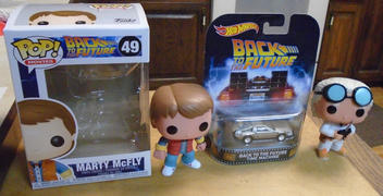 INSANE TOY SHOP Pop! Movies #49: Back to the Future: MARTY MCFLY Review