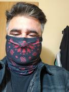 Fast Mask Black & Yellow Paisley Bandana Fast Mask - *Now with Sewn Edges* Review