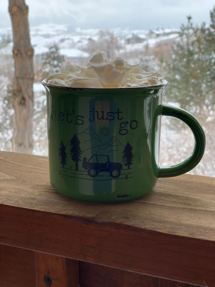 Camp Mug Let S Just Go Natural Life