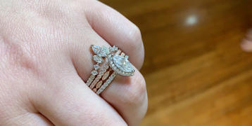 Tiger Gems 1.25 ctw Marquise Halo Ring Review
