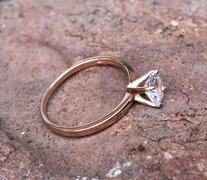Tiger Gems 1 ct Solitaire Ring - Rose GP, 40% Final Sale Review