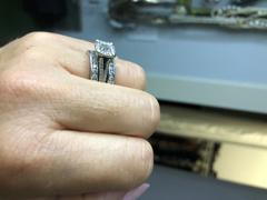 Tiger Gems 1 ctw Round Channel Eternity Band Review