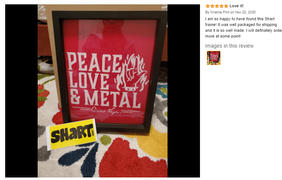 Shart.com Shart Original T Shirt Frame Display Case 4-Pack (Black) Review