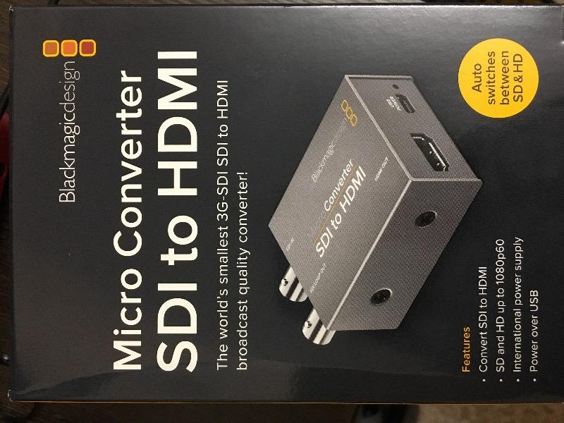 Industrial Electrical With Power Supply Blackmagic Design Micro Converter Sdi To Hdmi Bmd Convcmic Sh Wpsu Power Cables