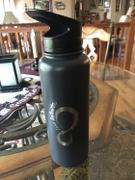 Live Infinitely  30 oz Insulated Water Bottle With Fruit Infuser Rod With FREE Dust Cap Lid Review