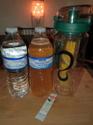 Live Infinitely  32 Oz Flip Top Fruit Infuser Water Bottle Review