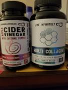 Live Infinitely  100% Organic Apple Cider Vinegar Capsules Review