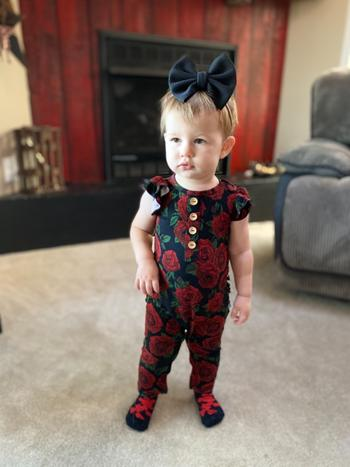 Little Bum Bums Bums N' Roses Ruffle Romper Review