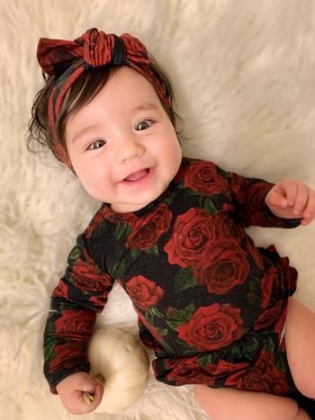 Little Bum Bums Bums N' Roses Ruffle Dress Review