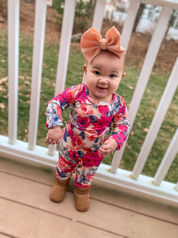 Little Bum Bums Rose Before Bros Ruffle Romper Review