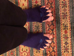 Happy Feet - The Original Foot Alignment Socks Purple Foot Alignment Socks Review