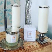 Hampton and Astley Hampton and Astley Luxury Scented Large Candle 235g, Bergamot, Rose and Lavender Review
