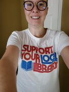 Boredwalk Women's Support Your Local Library T-Shirt Review