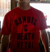 Boredwalk Men's Donuts and Death Metal T-Shirt Review