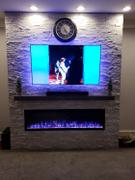 touchstonehomeproducts.com Sideline Elite 72 Recessed Electric Fireplace Review