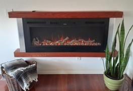 touchstonehomeproducts.com Sideline Steel 80013 50 Recessed Electric Fireplace Review