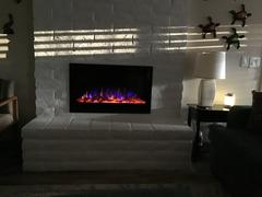 touchstonehomeproducts.com Sideline 36 80014 36 Recessed Electric Fireplace Review