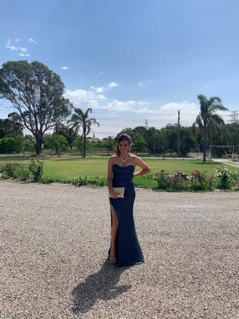 Dress for a Night NOOKIE Valentina Gown (Navy)- RRP $399 - M / 4-days Review
