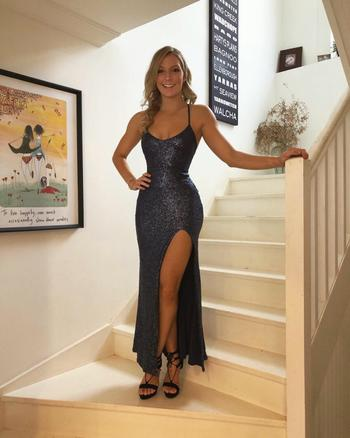 Dress for a Night NOOKIE Belleza Gown (Navy)- RRP $359 - S / 8-days Review