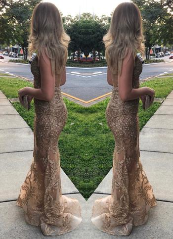 Dress for a Night NADINE MERABI Stella Gown (Gold)- RRP $885 - S / 4-days Review