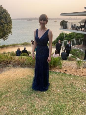 Dress for a Night JADORE Everett Gown J9004 (Navy) - RRP $690 Review