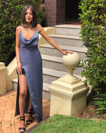 Dress for a Night LEXI Mila Dress (Slate Blue) - RRP $329 - 6 / 4-days Review
