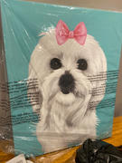 iLovePaws Custom Pet Portrait Canvas Review