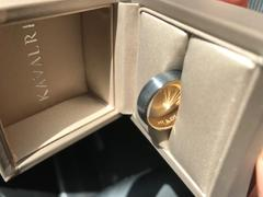 KAVALRI Custom Rounded Black Zirconium and Rose Gold Inlay Wedding Ring Review