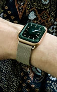 OzStraps Vintage Gold Milanese Loop Apple Watch Band Review