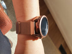 OzStraps Milanese Loop Samsung Galaxy Watch Active Band Review