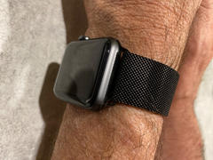 OzStraps Black Milanese Loop Apple Watch Band Review