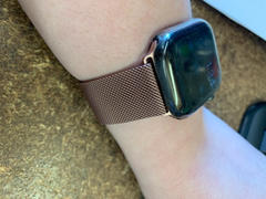 OzStraps Rose Gold Milanese Loop Apple Watch Band Review