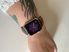 OzStraps Italian Vintage Dusk Apple Watch Band Review