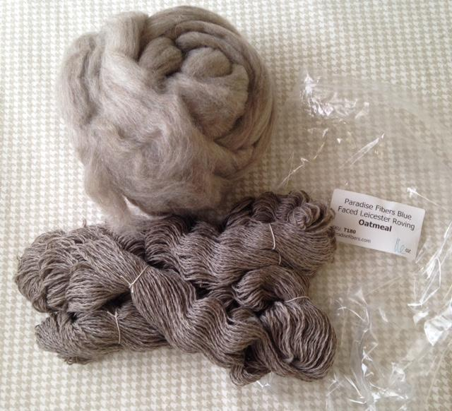 - Blue Faced Leicester Wool Top Royal Roving Spinning NeedleWetNuno Felting blue