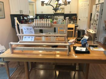 Paradise Fibers Ashford Folding Table Looms Review