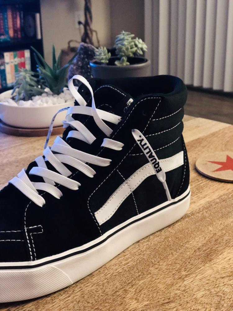 vans shoe strings
