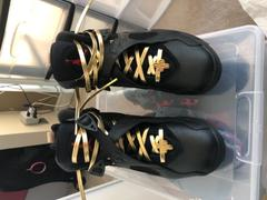 Laced Up Laces  GOLD LEATHER LACES Review