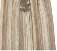 AmazingBeautyHair 140g Highlights 8/60# Clip In Hair Extensions Review