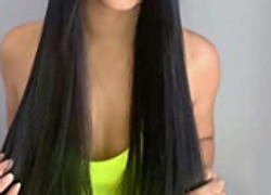 AmazingBeautyHair 120G Off Black #1B Clip in Hair Extensions Review