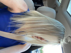 AmazingBeautyHair Halo Hair Extensions 60# Platinum Ash Blonde Review