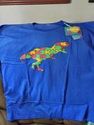 Svaha USA Dinosaur Puzzle Fitted Adults T-Shirt [FINAL SALE] Review