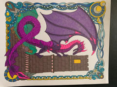 ColorIt Coloring Books Colorful Dragons Illustrated By Stevan Kasih Review